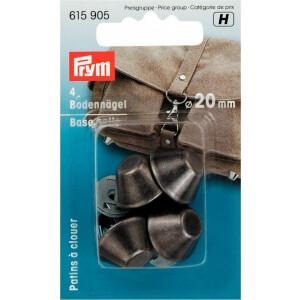 Bodennägel für Taschen 20mm, gunmetal