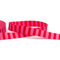 Ringelwebband pink-rot, 15 mm