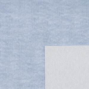 Kunstleder Tess, blau 50 x 70 cm