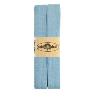 Jersey Schrägband 3 Meter, pastellblau