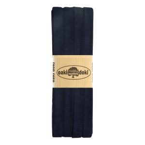 Jersey Schrägband 3 Meter, dunkelblau