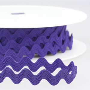 Zackenlitze 13mm, violett