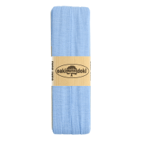 Jersey Schrägband 3 Meter, hellblau