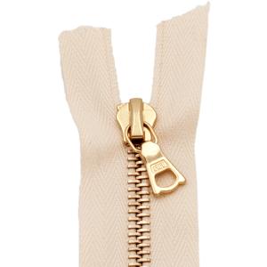 riri Reißverschluss Metal 6mm natur, 45 cm