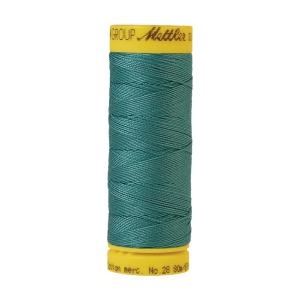 Silk-Finish Cotton 28, 80 m 0611 Blue-green Opal