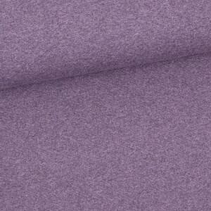 Bündchen meliert, violett