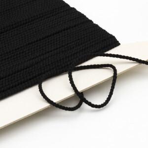 Paspelschnur 2mm, schwarz