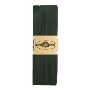 Jersey Schrägband 3 Meter, dunkelgrün