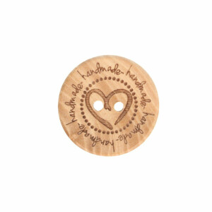 Holzknopf handmade 20mm