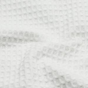 Waffelpique, weiß