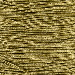 Gummikordel 2,2 mm, 3 Meter gold