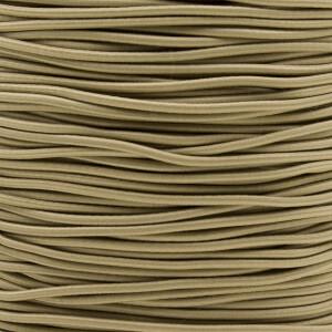 Gummikordel 2,2 mm, 3 Meter beige