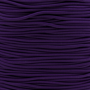 Gummikordel 2,2 mm, 3 Meter violett
