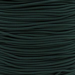 Gummikordel 2,2 mm, 3 Meter dunkelgrün