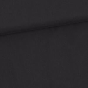 Lyocell uni, schwarz