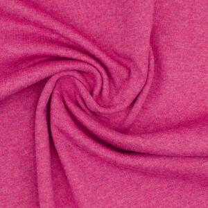 Bündchen meliert, pink