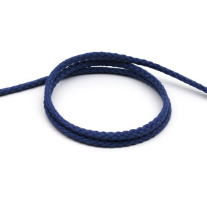 Flechtkordel 8 mm, graublau