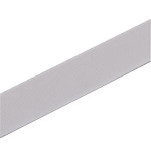 Einziehgummiband 25 mm weiß