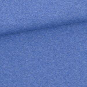 French Terry, blau meliert