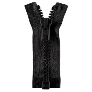 Opti Reißverschluss P60 Werra, schwarz 75 cm