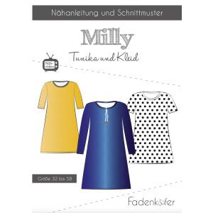 Papierschnittmuster Milly Tunika Damen, Gr. 32-58