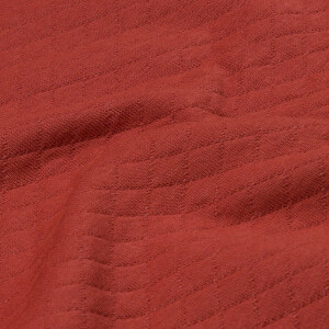 Steppjersey, terracotta