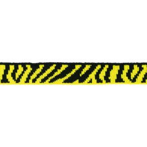 Mini Cuff Zebra, schwarz/gelb