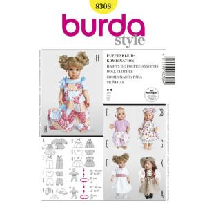 Puppenkleider: Kombination #8308