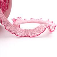 Rüsche 13mm, rosa