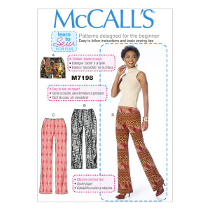 Hose Frauen Shorts Hose, McCalls 7198 Gr. 32-40