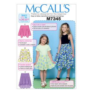 Mädchen Rock, McCalls 7345
