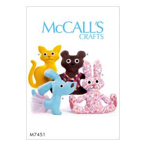 Puppe, McCalls 7451 Gr. Alle Größen
