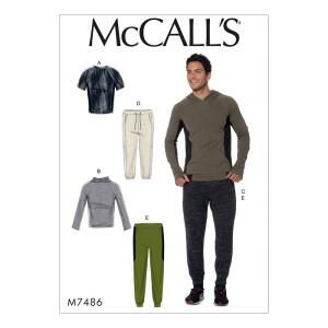 Top Pullover Hose, McCalls 7486