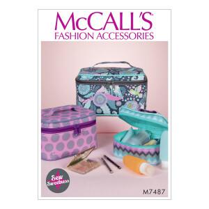 Reisetasche in 3 Größen, McCalls 7487 Gr. Alle...