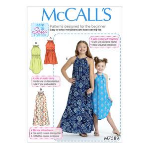 Mädchen Kleid, McCalls 7589