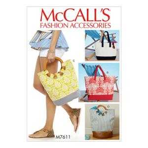 Tasche, McCalls 7611 Gr. Alle Größen