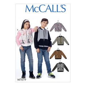 Jacken für Mädchen und Jungs, McCalls 7619