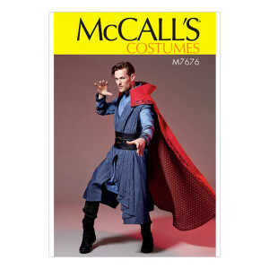 Herren Kostüm mit vielen Details, McCalls 7676 Gr....