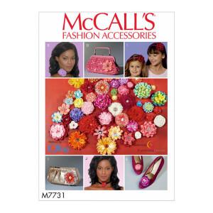 Blumen Accessoires in vielen Varianten, McCalls 7731 Gr....