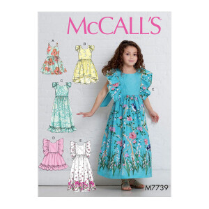 Kleid, McCalls 7739