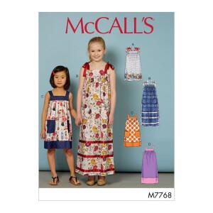 Kleid, McCalls 7768