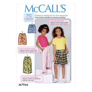 Lässige Kinderjogginghose, McCalls 7966