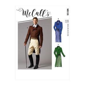 Historisches Herren Kostüm, McCalls 8135