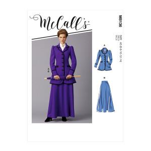 Historisches Damen Kostüm, McCalls 8136