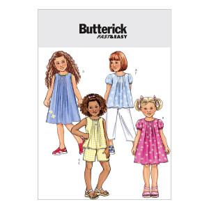 Top/Kleid/Shorts/Hose, Butterick 4176