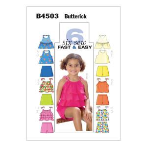 Top/Skort/Short, Butterick 4503