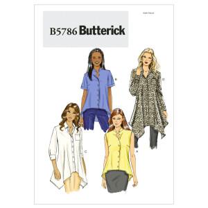 Bluse, Butterick 5786
