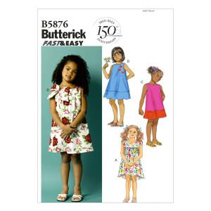 Kleid, Butterick 5876