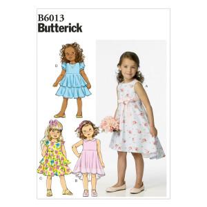 Kleid, Butterick 6013