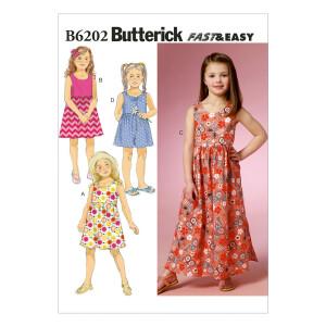 Kleid/Hosenrock, Butterick 6202
